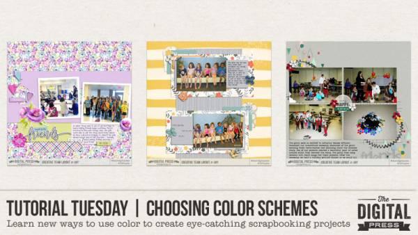 Choosing Color Schemes for Scrapbooking