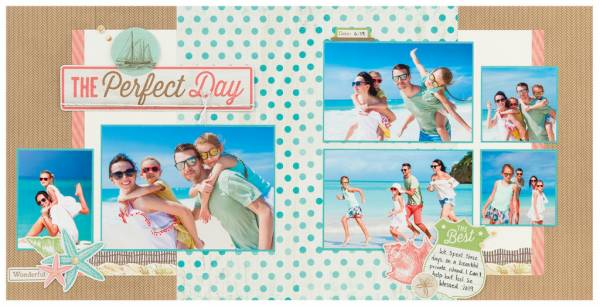 Seaside Layouts and Cards