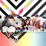 Pride Celebration Layout