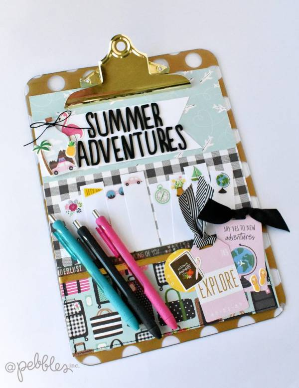 Summer Bucket List Clipboard