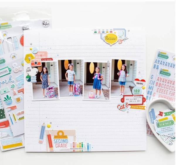 2 Back to School Layouts