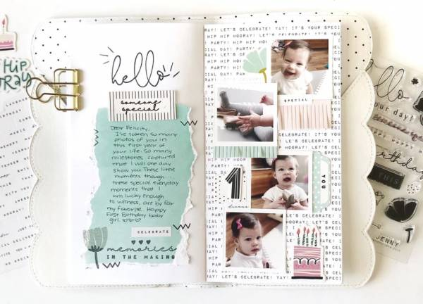 First Year Baby Layout