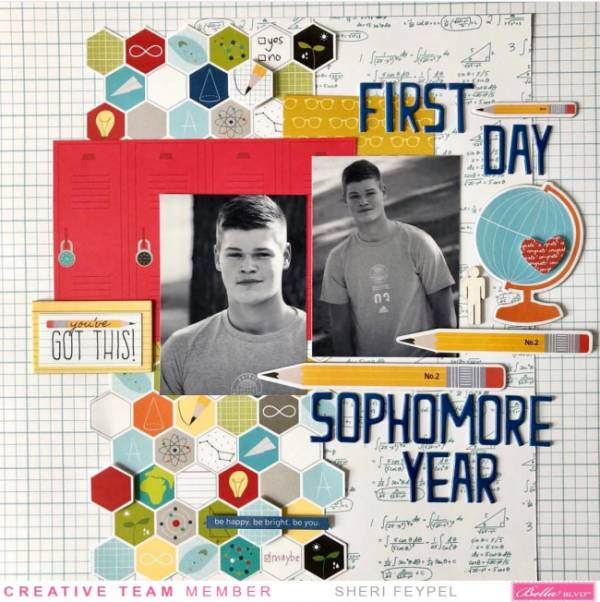 Back to School Sophomore Year Page