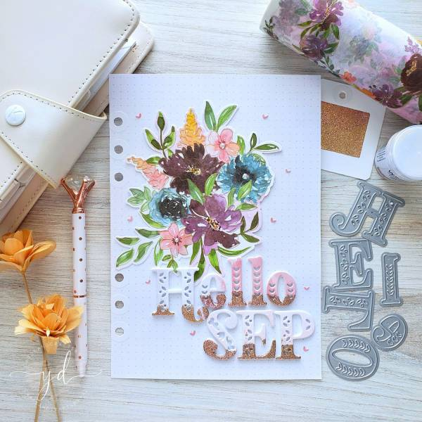 September Planner Page