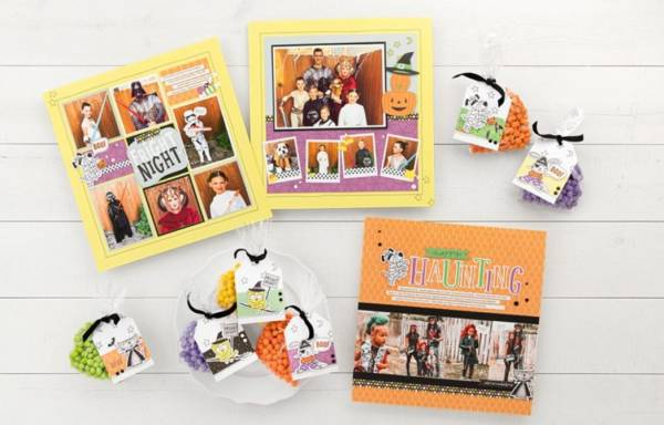 6 Halloween Pages and Tags