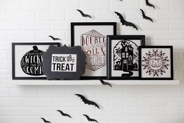 Framed Halloween Art