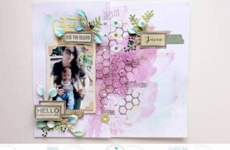 Mixed Media Planner Pages