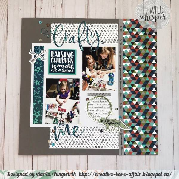 Crafty Kids Layout