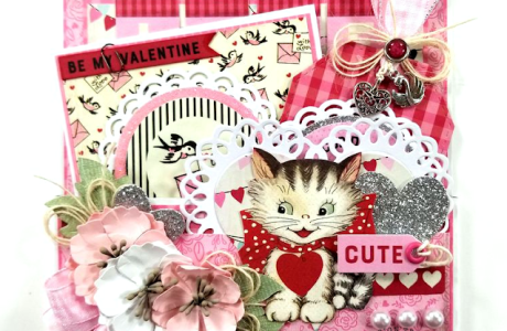 Valentine Pocket with Tags