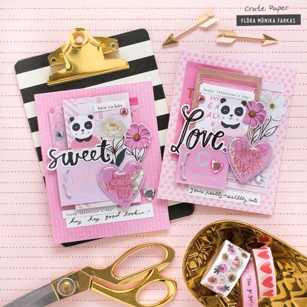Valentine's Day Cards w/ Scrapbooking Products