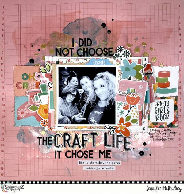 Crafting Life Layout
