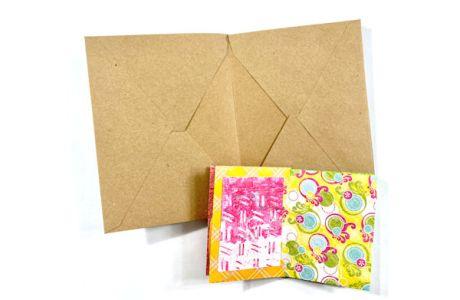 Make a Mini Album with Envelopes