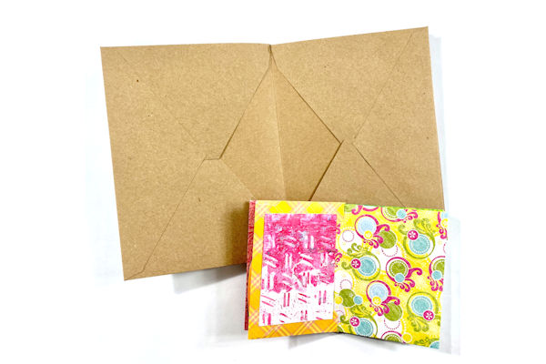 Make a Mini Album with Envelopes