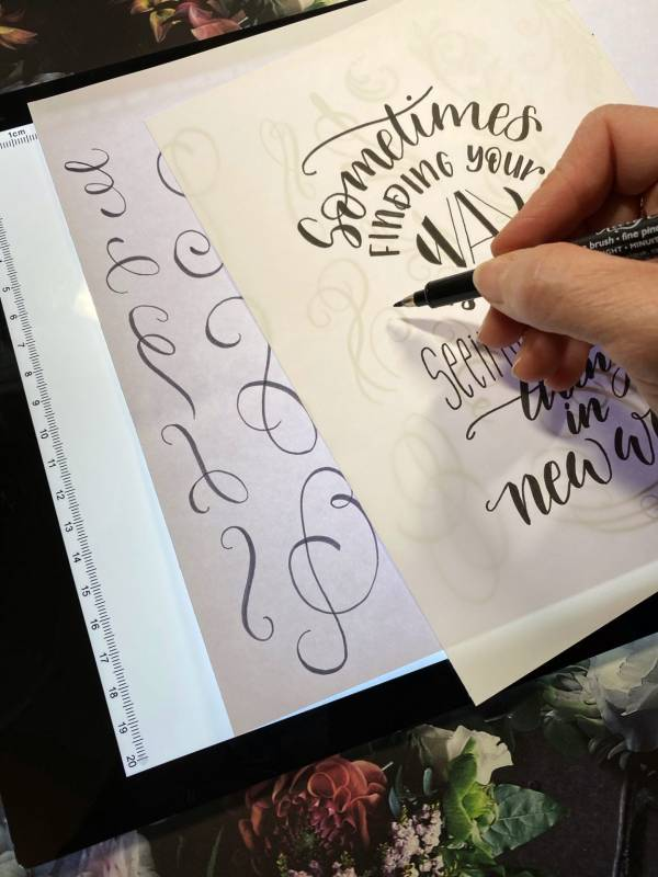 Add Pretty Flourishes to Your Handwriting