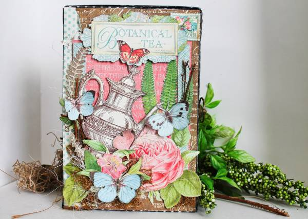 Botanical Tea Box and Album