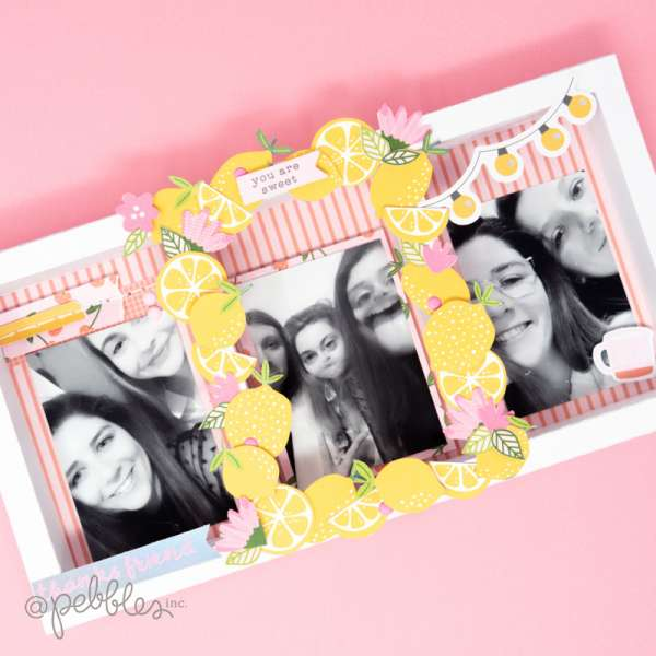 Scrapbook Friendship Frame