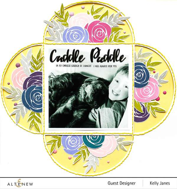 Dogs and Roses Layout
