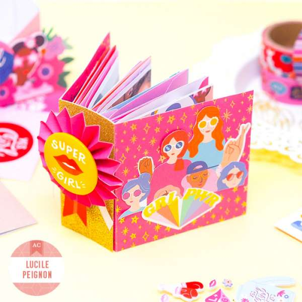 Girl Power Mini Envelope Album