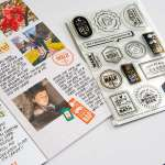 Using Stamps on Traveler's Notebook Pages