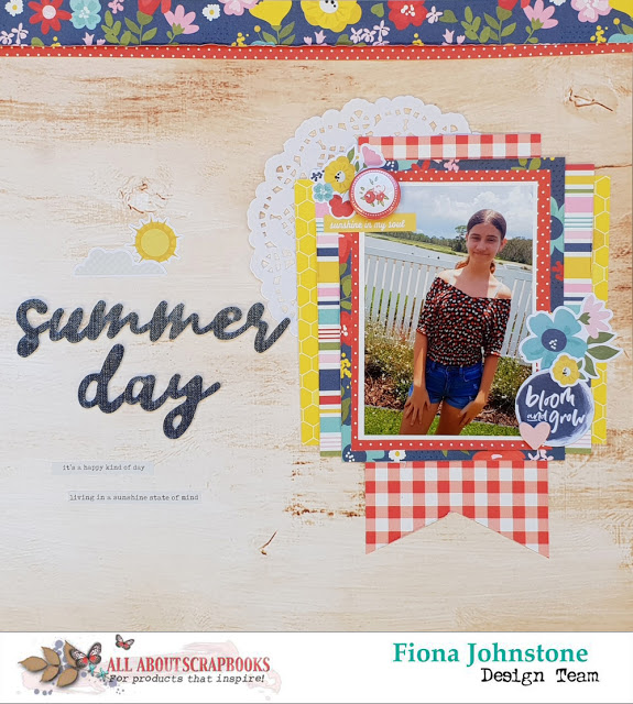 Summer Day Layout