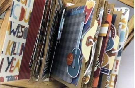 Paper Bag Album for a Boy