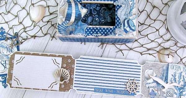 Ocean Theme Mini Ticket Album