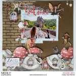 Fairyland Scrapbook Page
