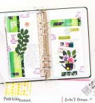 Tea Traveler's Notebook Layout