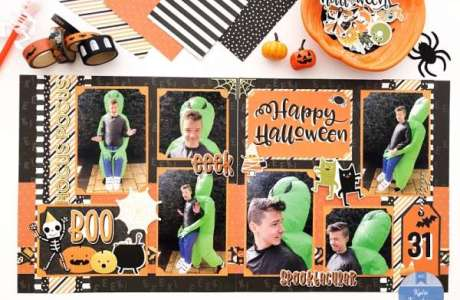 Double Page Halloween Layouts