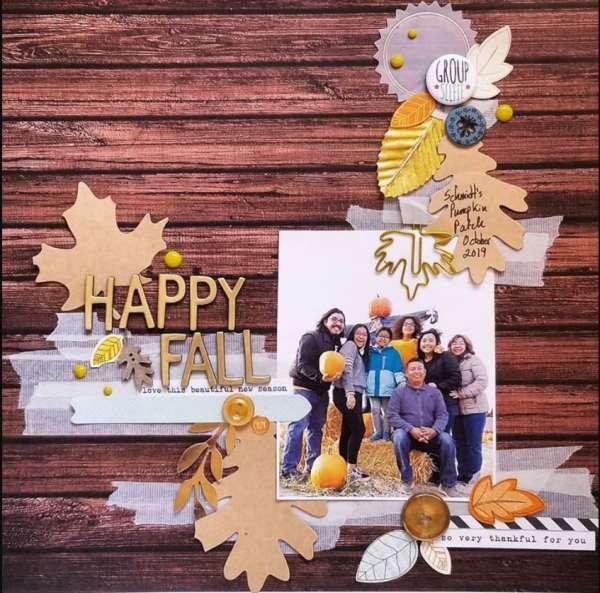 Happy Fall Layout