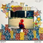 Super Hero Layout