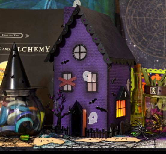 11 Paper Haunted House Ideas