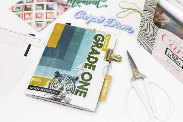 Make a Mini Album with Cards