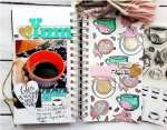 Coffee Traveler's Notebook Pages