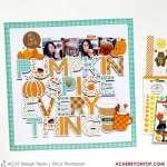 Pumpkin Spice Layout