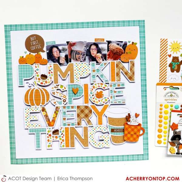 Pumpkin Spice Layout