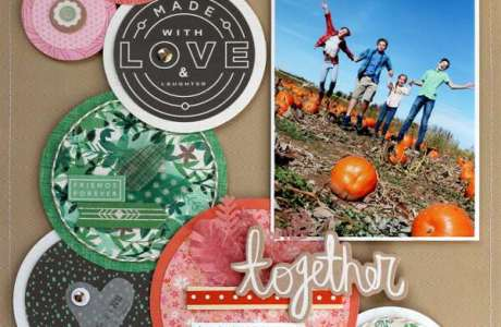 2 Fall Family Layouts
