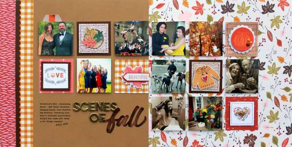 Fall Grid Layout