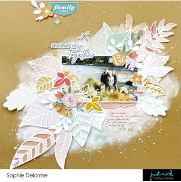 Autumn Memories Together Layout