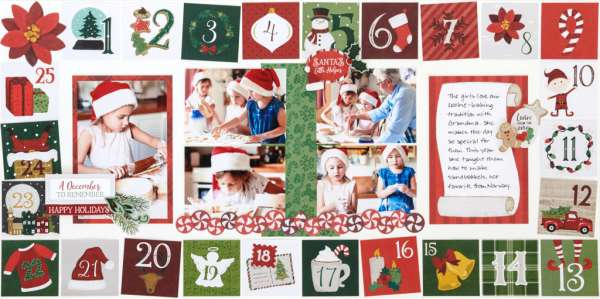 Christmas Countdown Layout