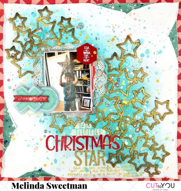 Christmas Star Layout