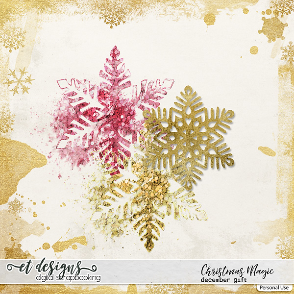 Digital Snowflakes Download