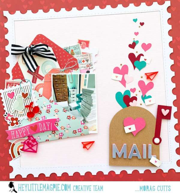 Happy Mail Layout