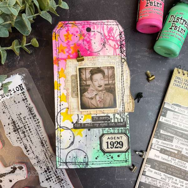 Mixed Media Tag