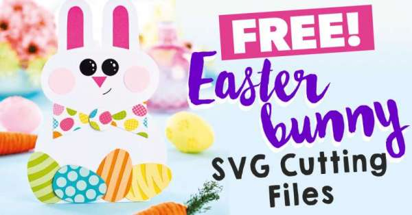 Easter Bunny SVG Cut Files