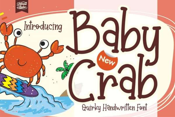 Baby Crab Font Download
