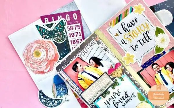 Scrapbook Layouts with Sustainable Products
