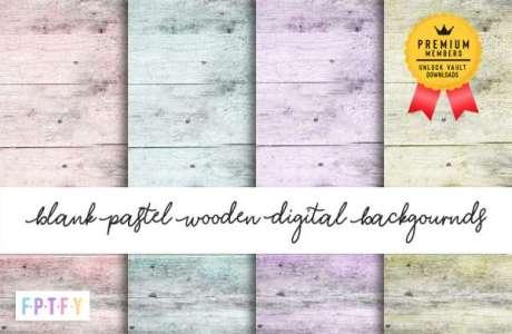 FREE Pastel Wood Pattern Papers