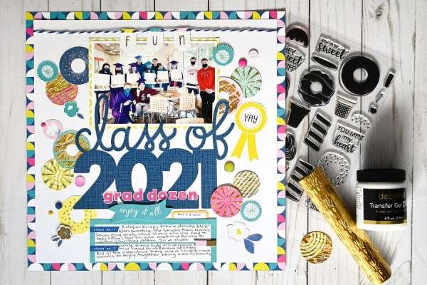 School Graduation Layout