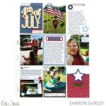 4th of July Pocket Page